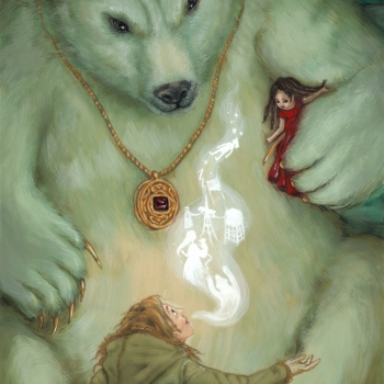 The golden compass tribute illustration: Yofur