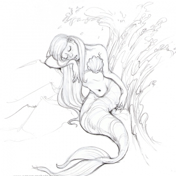 mermaid-drawing